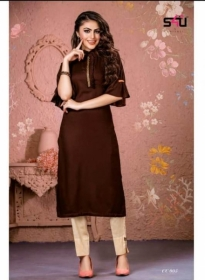 S4U-Cotton-Candy-kurti - CC 005