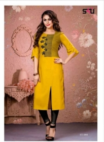 S4U-Cotton-Candy-kurti - CC 006