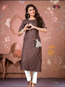 S4U-Cotton-Candy-kurti - CC 008