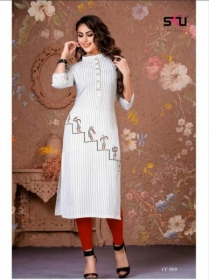 S4U-Cotton-Candy-kurti - CC 009