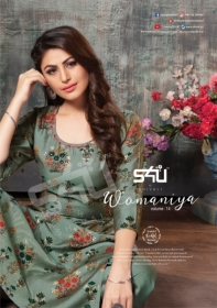 S4U SHIVALI WAMANIYA VOL-14 COTTON SILK KURTI WITH PALAZZO (7) JPG