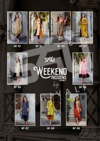 S4U WEEKEND PASSIONS VOL-04 FANCY STYLISH COLOURFUL KURTIS(11)jpg