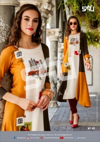 S4U WEEKEND PASSIONS VOL-04 FANCY STYLISH COLOURFUL KURTIS(3)jpg
