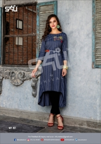 S4U WEEKEND PASSIONS VOL-04 FANCY STYLISH COLOURFUL KURTIS(8)jpg