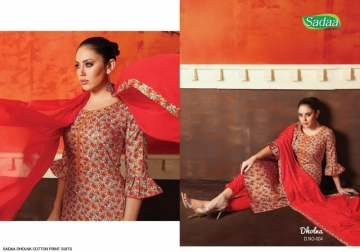 SADAA DHOLNA COTTON PRINT WITH EMBROIDERY SUITS WHOLESALE PRICE (9) JPG