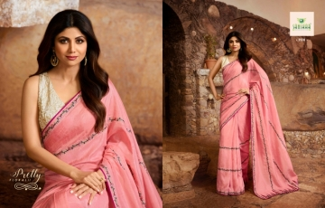 SANSKAR PRESENTS SHILPA VOL-7 SILK DESIGNER FANCY WEAR SAREES (10) JPG