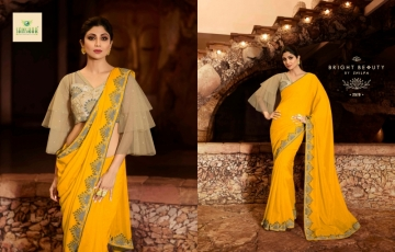 SANSKAR PRESENTS SHILPA VOL-7 SILK DESIGNER FANCY WEAR SAREES (11) JPG