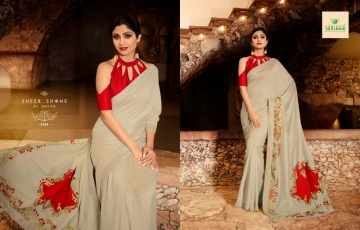 SANSKAR PRESENTS SHILPA VOL-7 SILK DESIGNER FANCY WEAR SAREES (12) JPG