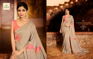 SANSKAR PRESENTS SHILPA VOL-7 SILK DESIGNER FANCY WEAR SAREES (17) JPG