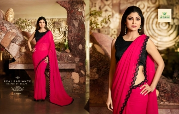 SANSKAR PRESENTS SHILPA VOL-7 SILK DESIGNER FANCY WEAR SAREES (19) JPG