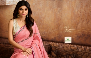 SANSKAR PRESENTS SHILPA VOL-7 SILK DESIGNER FANCY WEAR SAREES (2) JPG