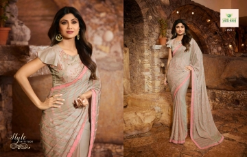 SANSKAR PRESENTS SHILPA VOL-7 SILK DESIGNER FANCY WEAR SAREES (3) JPG