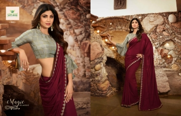 SANSKAR PRESENTS SHILPA VOL-7 SILK DESIGNER FANCY WEAR SAREES (5) JPG