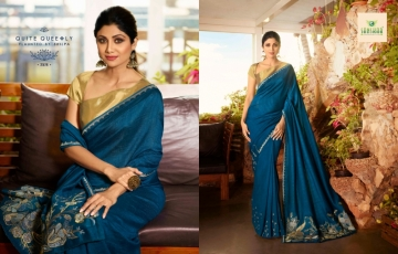 SANSKAR PRESENTS SHILPA VOL-7 SILK DESIGNER FANCY WEAR SAREES (6) JPG