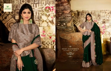 SANSKAR PRESENTS SHILPA VOL-7 SILK DESIGNER FANCY WEAR SAREES (9) JPG
