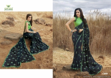 SANSKAR SUHANE PAL VOL-16 GEORGETTE DIGITAL PRINTED FANCY PARTY WEAR SAREE WHOLESALE PRICE(11)JPG