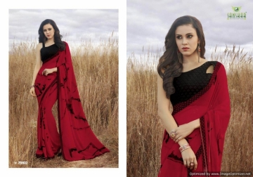SANSKAR SUHANE PAL VOL-16 GEORGETTE DIGITAL PRINTED FANCY PARTY WEAR SAREE WHOLESALE PRICE(3)JPG