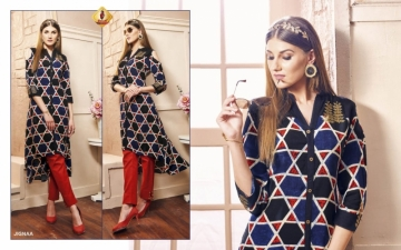 SHRUTI FEMINAA RAYON SILK PRINTED KURTIS   WHOLESALE PRICE (3) JPG
