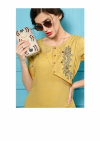 SHUBH NX ANTIQUITY RAYON WESTERN STYLE LONG KURTIS WHOLESALE SUPPLIER SURAT(01)JPG