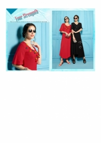 SHUBH NX ANTIQUITY RAYON WESTERN STYLE LONG KURTIS WHOLESALE SUPPLIER SURAT(10)JPG