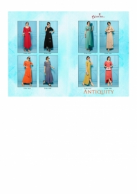 SHUBH NX ANTIQUITY RAYON WESTERN STYLE LONG KURTIS WHOLESALE SUPPLIER SURAT(8)JPG