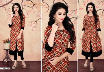 STUDIO KARISHMA SUMMER WEAR FANCY KURTIS WHOLESALE PRICE (8) JPG