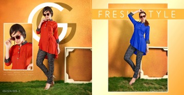 SWEETY FASHION OUT FIT PRINTED KURTIS WHOLESALE SUPPLIER (6) JPG