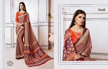 TAANI SAREES INSPIRE PRINT SAREE CATALOG WHOLESALE SUPPLIER SURAT (11)JPG
