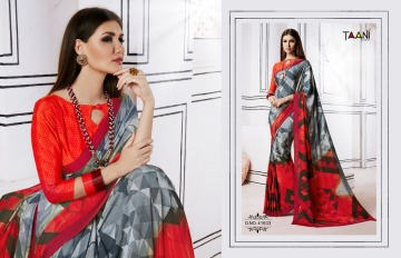 TAANI SAREES INSPIRE PRINT SAREE CATALOG WHOLESALE SUPPLIER SURAT (4)JPG