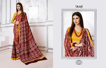 TAANI SAREES INSPIRE PRINT SAREE CATALOG WHOLESALE SUPPLIER SURAT (5)JPG