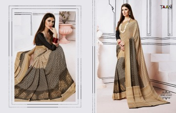 TAANI SAREES INSPIRE PRINT SAREE CATALOG WHOLESALE SUPPLIER SURAT (8)JPG