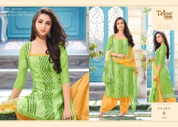 TEJOO FASHION SAARA COTTON PRINTED SALWAR SUITS WHOLESALE PRICE (5) JPG