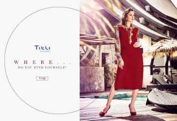 TITLI AESTHETIC DESIGNER WITH WORK AND PRINTED FAUX GEORGETTE KURTIS WHOLESALE PRICE (1) JPG