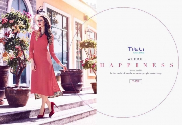 TITLI AESTHETIC DESIGNER WITH WORK AND PRINTED FAUX GEORGETTE KURTIS WHOLESALE PRICE (5) JPG