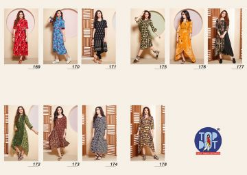 TOPDOT DUSK VOL 4 RAYON KURTIS WHOLESALE PRICE (6) JPG