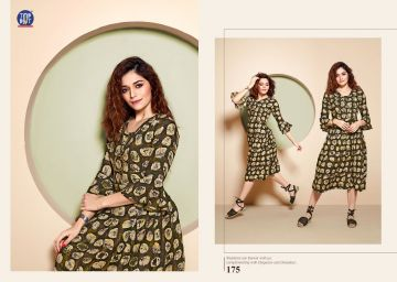 TOPDOT DUSK VOL 4 RAYON KURTIS WHOLESALE PRICE (7) JPG