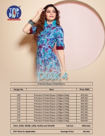 TOPDOT DUSK VOL 4 RAYON KURTIS WHOLESALE PRICE (9) JPG