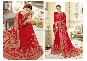 Triveni Abhinandan Saree Wholesale Supplier 27203