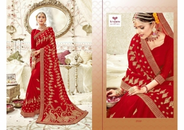 Triveni Abhinandan Saree Wholesale Supplier 27207