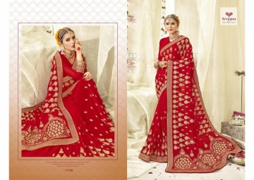 Triveni Abhinandan Saree Wholesale Supplier 27206
