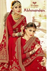 Triveni Abhinandan Saree Wholesale Supplier