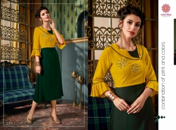 VASTRIKAA FROST RAYON FANCY WEAR JACKETS AND KURTIS WHOLESALE PRICE(10)JPG