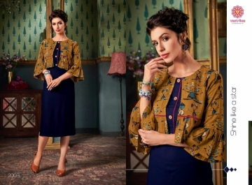 VASTRIKAA FROST RAYON FANCY WEAR JACKETS AND KURTIS WHOLESALE PRICE(11)JPG
