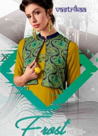 VASTRIKAA FROST RAYON FANCY WEAR JACKETS AND KURTIS WHOLESALE PRICE(1)JPG