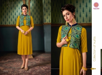 VASTRIKAA FROST RAYON FANCY WEAR JACKETS AND KURTIS WHOLESALE PRICE(5)JPG
