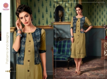 VASTRIKAA FROST RAYON FANCY WEAR JACKETS AND KURTIS WHOLESALE PRICE(7)JPG