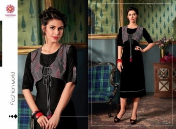 VASTRIKAA FROST RAYON FANCY WEAR JACKETS AND KURTIS WHOLESALE PRICE(9)JPG
