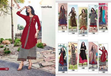 VASTRIKAA PLUSH VOL 2 GEORGETTE KURTI WHOLESALE PRICE(10)JPG