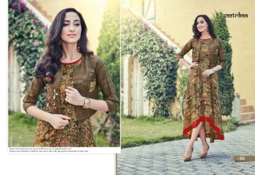VASTRIKAA PLUSH VOL 2 GEORGETTE KURTI WHOLESALE PRICE(1)JPG