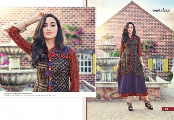 VASTRIKAA PLUSH VOL 2 GEORGETTE KURTI WHOLESALE PRICE(2)JPG